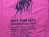 European Tour 2017 T-shirt - Pink photo