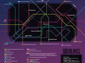 The Berlin City Tour (LP) - USB + leaflet photo