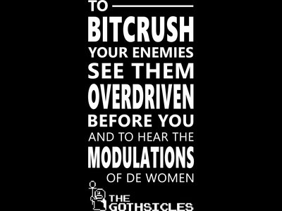 Bitcrush Your Enemies t-shirt main photo