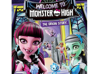 Signed 'Welcome To Monster High' DVD main photo