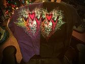 WHOOPS Reversed PURPLE T-Shirt photo