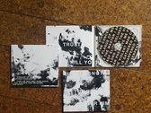 """LINGUA IGNOTA """"DISEASE OF MEN"""" T-SHIRT + LTD ED """"LET THE EVIL..."""" CD photo"""