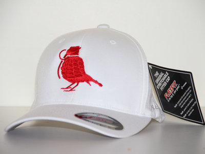 White / Red Flexfit (FREE POSTAGE) main photo