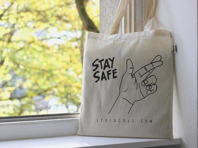 STAY SAFE - Organic Cotton Tote Bag main photo