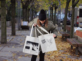 STAY SAFE - Organic Cotton Tote Bag photo