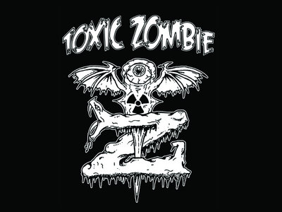 """Toxic Zombie """"Snake"""" T- Shirt main photo"""