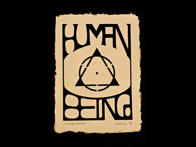 Human Being Limited Edition Fine Art Print main photo