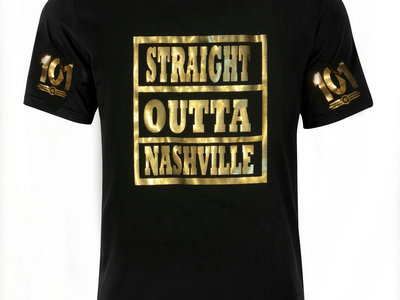Straight Outta Nashville (Unisex T-shirt) main photo
