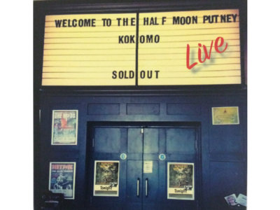 Limited Edition CD: Live at the Half Moon, Putney, July 2017 main photo