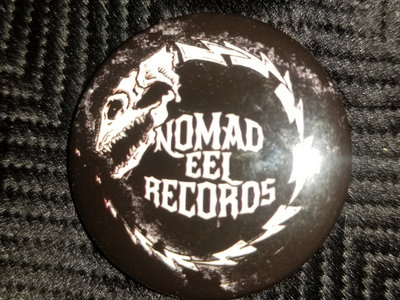 """Nomad Eel Records Button - 1 1/2"""" main photo"""