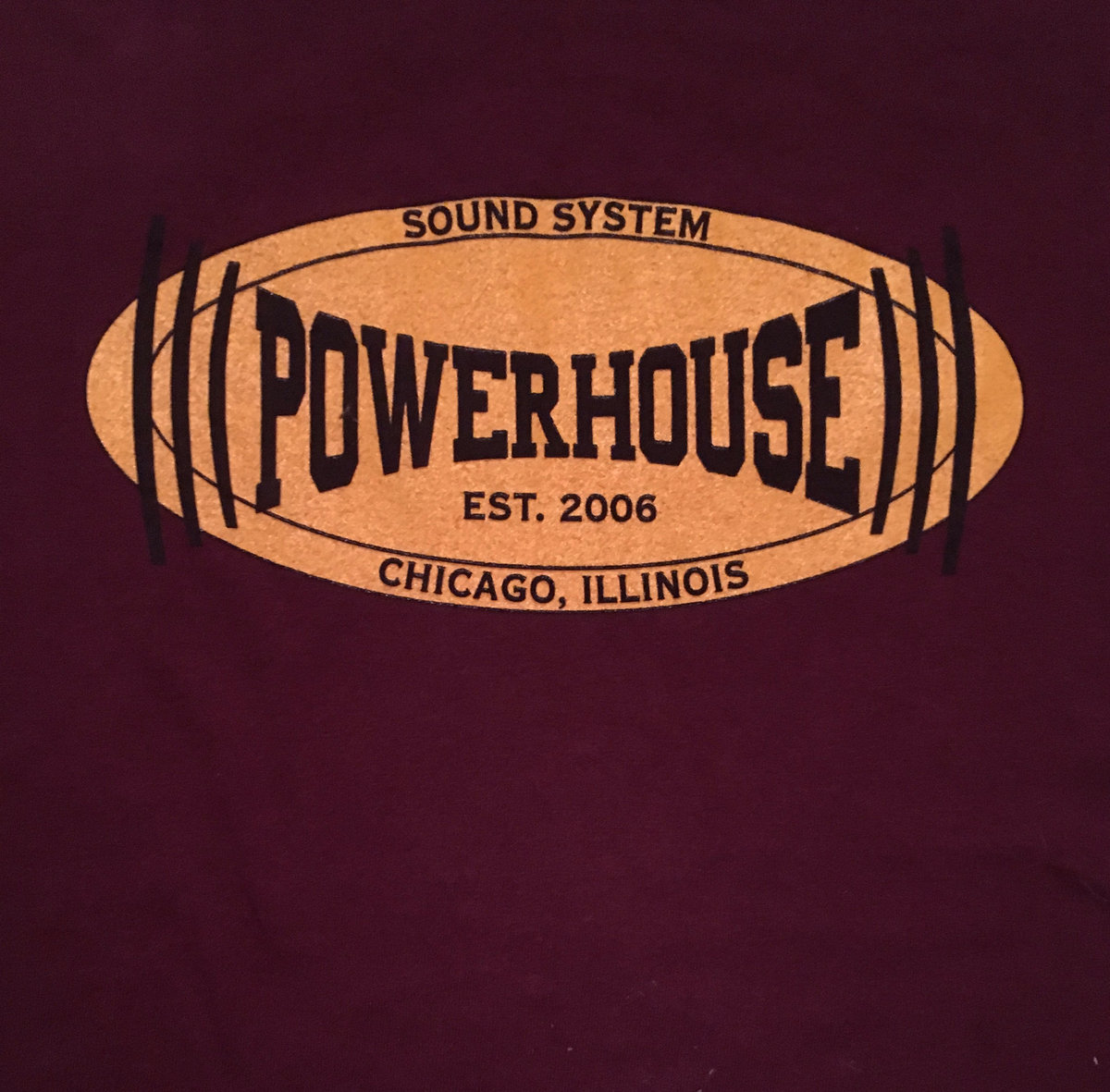 Powerhouse Sound T-Shirt (Very Limited Stock) | Catalytic-Sound