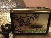 "Custom Cassette Tape player : CRABALADEUR #1 ""Le Zombie"" photo"