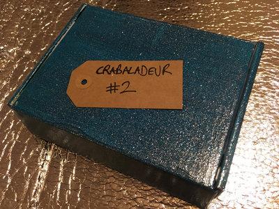 """Custom Cassette Tape player : CRABALADEUR #2 """"Maximum Volume"""" main photo"""
