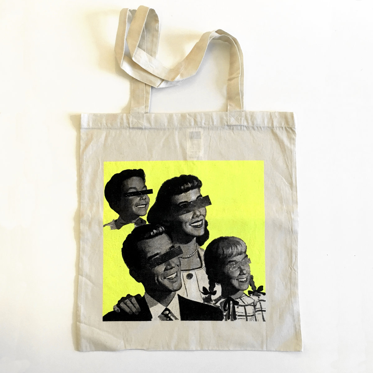 53864016fe9 Double-sided, 2-colour, screen-printed tote bag | Invisible, Inc.