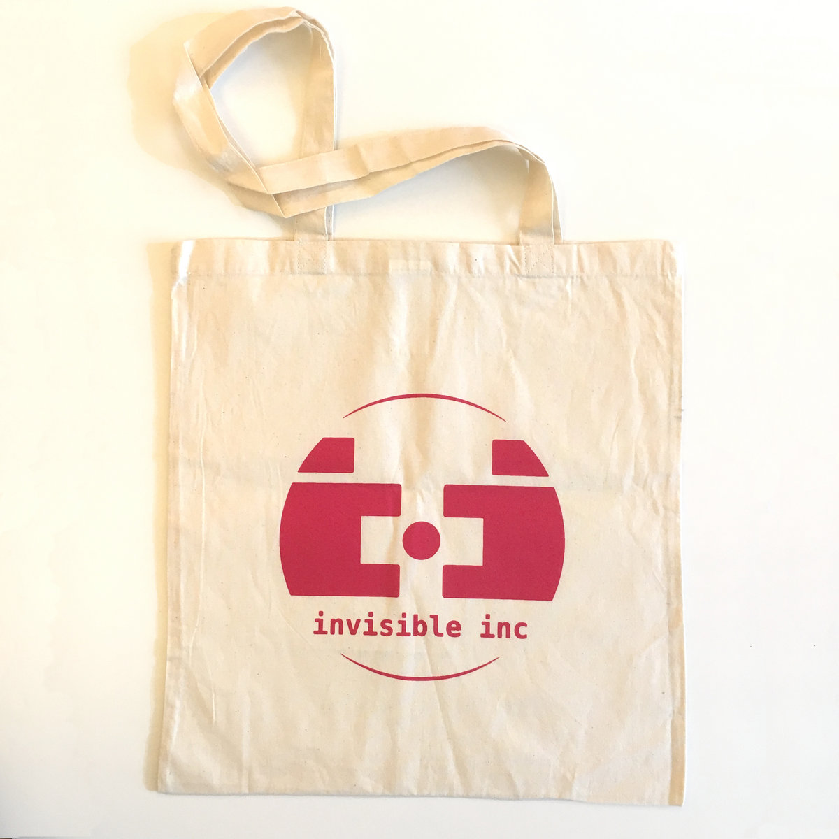 Double-sided, 2-colour, screen-printed tote bag | Invisible, Inc