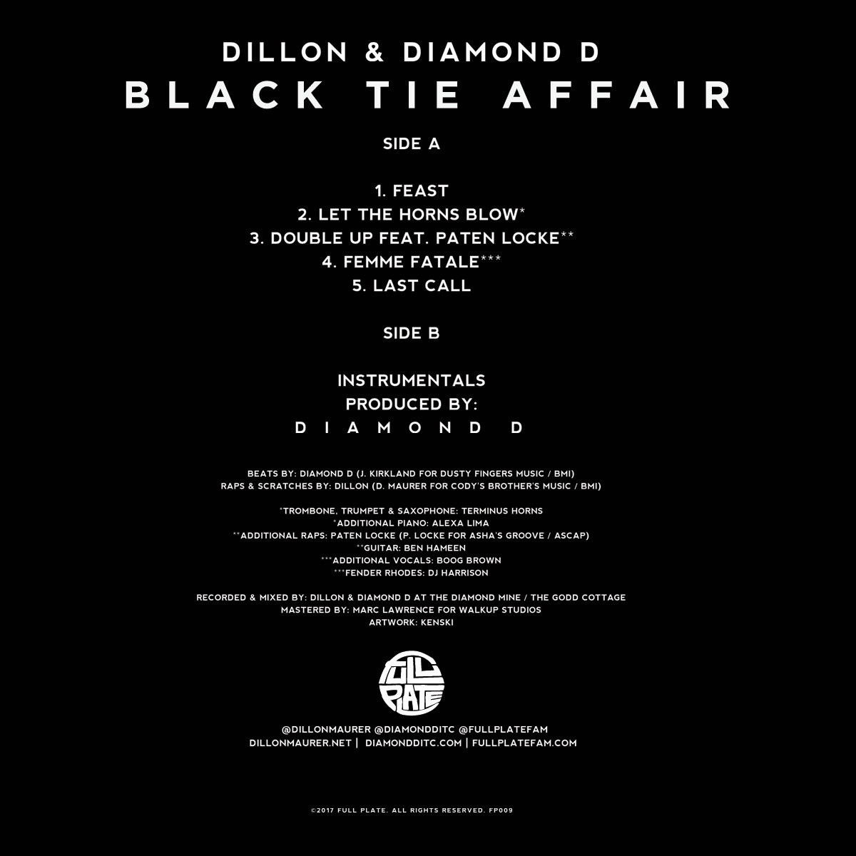 FP009 - Black Tie Affair | Dillon (US)