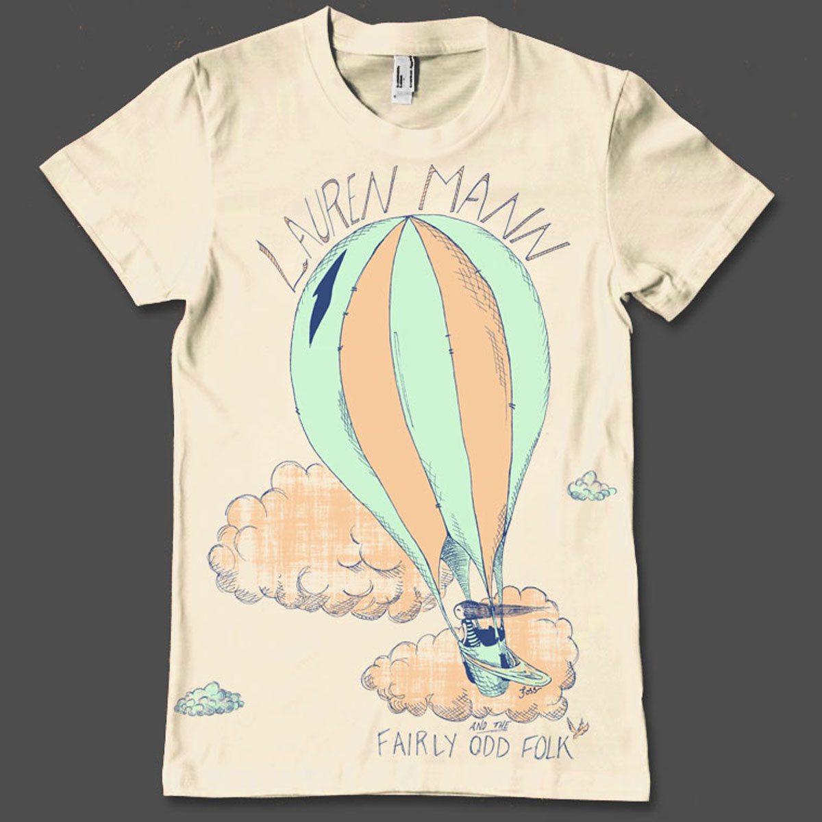 d94c7ba70dad3 Hot Air Balloon T-Shirt | Lauren Mann