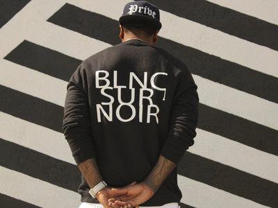 ✖ Privé Apparel ✖ #BlncSurNoir LS crew main photo
