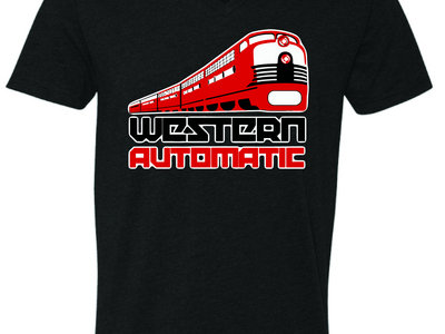 Locomotive Unisex V-Neck Black main photo