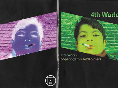 "Cassette Comp - 4th WORLD (AFTER WORK POP SONGS FOR CHILD SOLDIERS) - Zaetraom Label, includes version of ""The Oven"" by David E. Williams main photo"