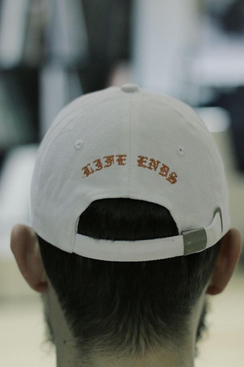 68d264de4c6 LIFE ENDS POLO-CAP WHITE Sale! photo