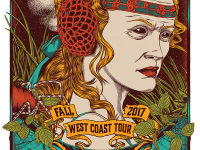 Sasquatch - House of Broken Promises - West Coast USA 2017 Tour Poster main photo