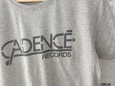 """Cadencé Records """"Gris Chiné"""" T-shirt photo"""