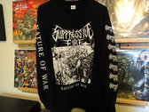 Nature of War Longsleeve (Free album download included) photo
