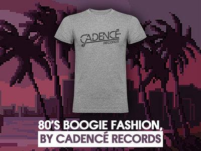 """Cadencé Records """"Gris Chiné"""" T-shirt main photo"""