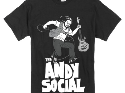 The Andy Social Black T-Shirt main photo