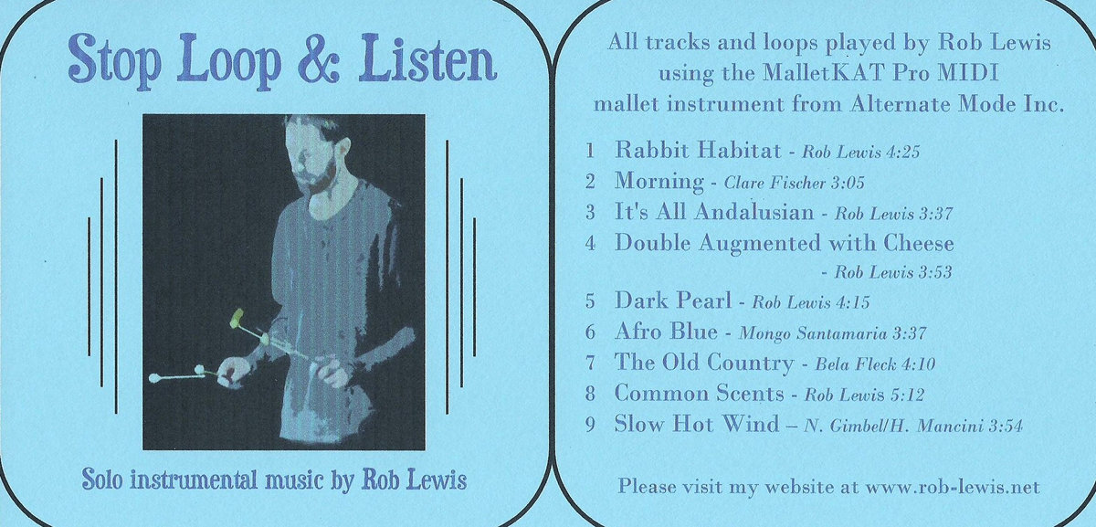 Stop Loop & Listen - album | Rob Lewis