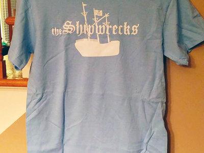 OG Ship Logo T-shirt - Baby Blue main photo