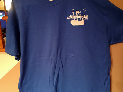 New Design T-shirt - Royal Blue main photo