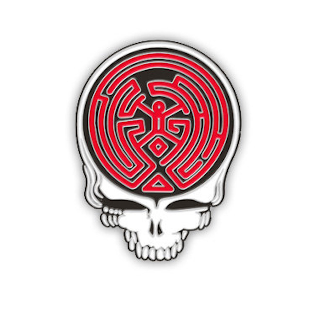 Grateful Dead Stealy Die Cut Vinyl Sticker Steal Your Face