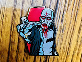 Shadow Windhawk 'Casket Spray' Enamel Pin by Lunar Crypt Co. photo