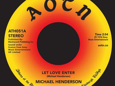 """Michael henderson - Let Love Enter 7"""" Vinyl **SALE** main photo"""