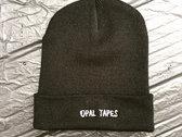 Opal Tapes / Black Opal Knit Hat photo