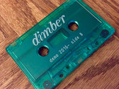 "dimber - ""Cassingle"" Demo Cassette Tape photo"