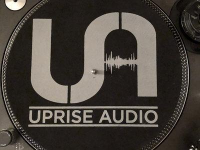 Black Slips mats with grey UA logo main photo