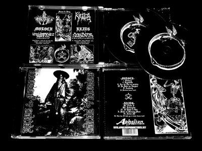 MOLOCH / KRIEG - split CD main photo