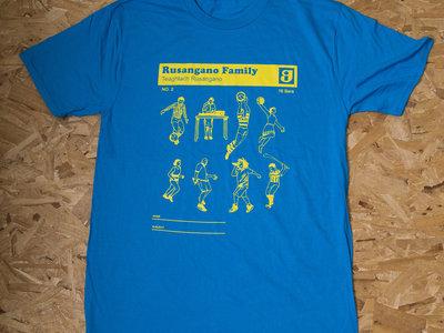 Throwback Design T-shirt (Blue) main photo