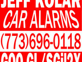 Car Alarms - Limited Edition Magnet photo