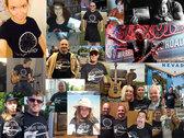 Dave Brons Guitar T-shirt photo