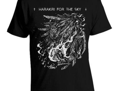 Harakiri for the Sky - Arson White Owl Shirt & Girlie Shirt main photo