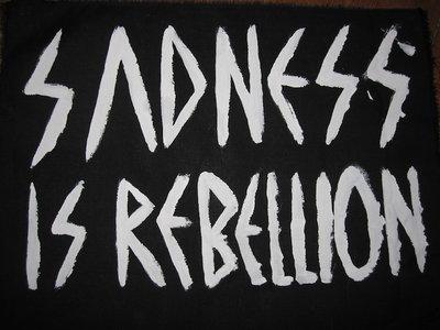 Lebanon Hanover Sadness is Rebellion SMALL Patch (Size ca. 6 x 9 cm) main photo