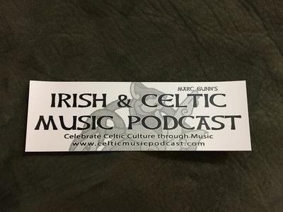 Irish & Celtic Music Podcast Bumper Sticker main photo