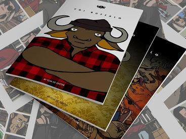 CGI BUFFALO Comic Book Series (Issue 1-3) main photo