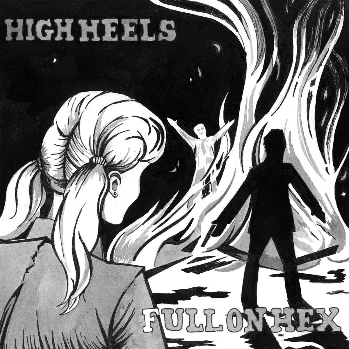 High heels down dick