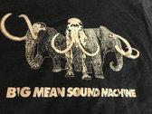 Marauders Mammoth T-Shirt - Black Aqua photo