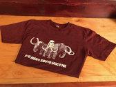 Marauders Mammoth T-Shirt - Heather Cranberry photo